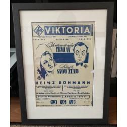 Ich vertraue dir meine Frau an /Svěřuji ti svou ženu (1943) - plakát + rám
