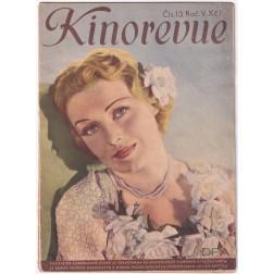 Kinorevue 1938, ročník V číslo 13