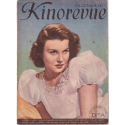 Kinorevue 1939, ročník V číslo 23