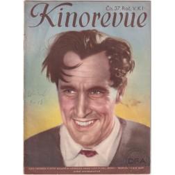 Kinorevue 1939, ročník V číslo 37