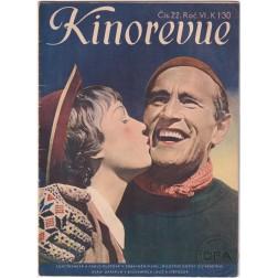 Kinorevue 1940, ročník VI číslo 22