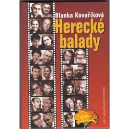 Herecké balady - Blanka Kovaříková