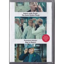 Dobrý voják Švejk/ Poslušně hlásím (DVD)