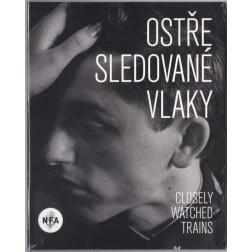 Ostře sledované vlaky (DVD)