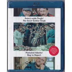 Dobrý voják Švejk/ Poslušně hlásím (Blu-ray)