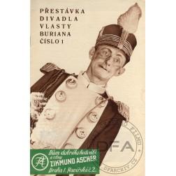 PŘESTÁVKA Divadla Vlasty Buriana 1936/01