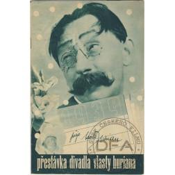 PŘESTÁVKA Divadla Vlasty Buriana 1938/03