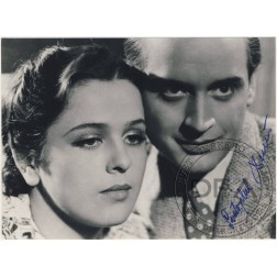 Fotoska - Minulost Jany Kosinové: Svatopluk Beneš (autogram)