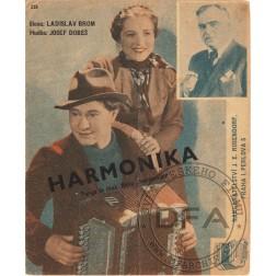 Noty - Harmonika