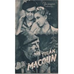 Bio-program 1939/0 Tulák Macoun